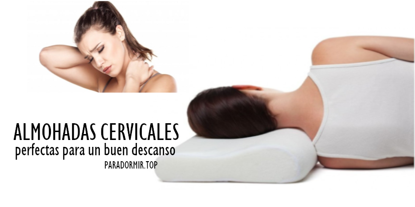 almohadas ergonomicas cervicales