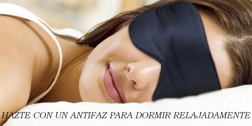 antifaz para dormir bien
