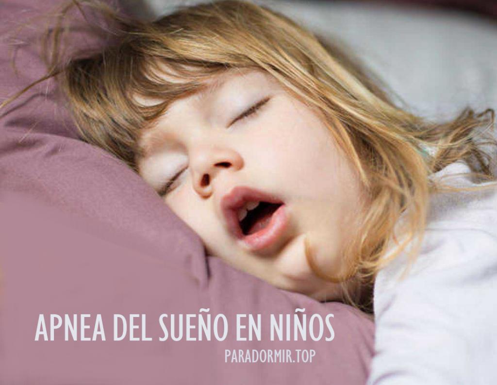que son las apneas infantiles, PROBLEMA DE RONCAR