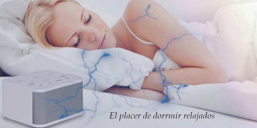 maquinas generadoras de ruido blanco para dormir estupendamente