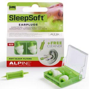 Alpine SleepSoft Tapones oidos de silicona.