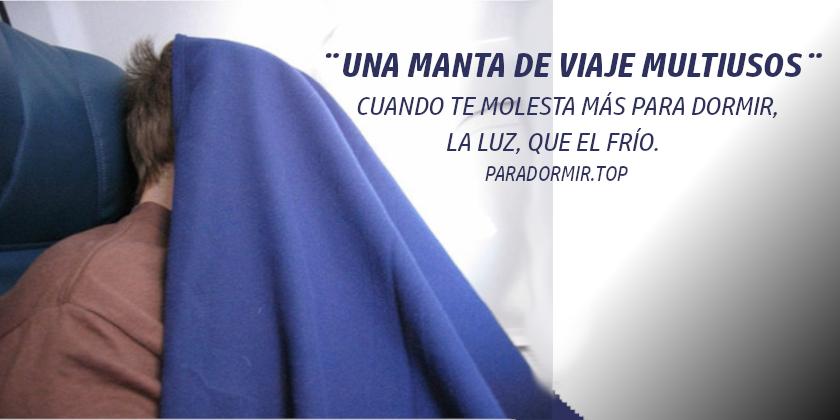 MANTA DE VIAJE