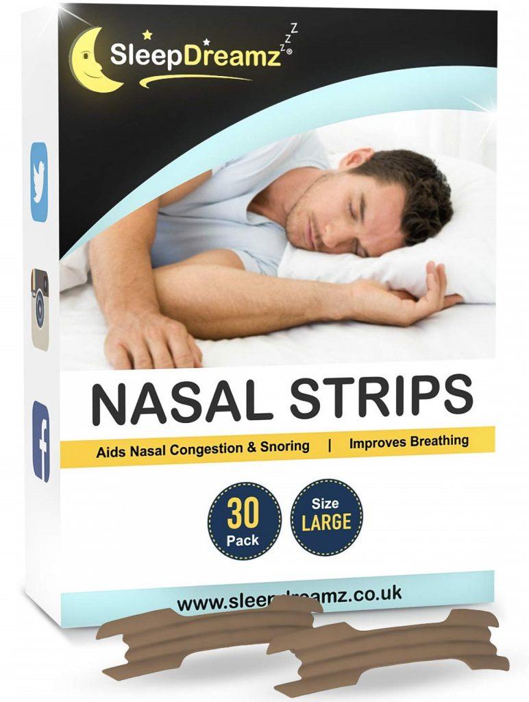 SleepDreamz tiras nasales adultos