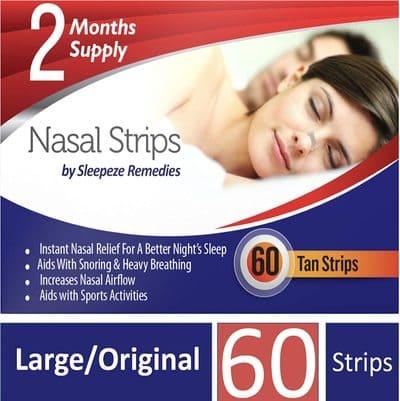 Remedies tiras nasales
