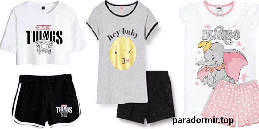 pijamas niña verano