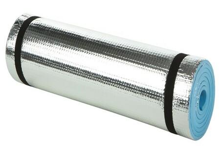 ColorBaby - Esterilla aislante camping de aluminio